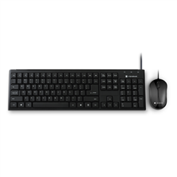 DYNABOOK KU40M WIRED KEYBOARD AND MOUSE COMBO- BLACK