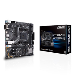 AMD A520 (RYZEN AM4) MICRO ATX MOTHERBOARD WITH M.2 SUPPORT- 1 GB ETHERNET- HDMI/DVI/D-SUB- SATA 6 GBPS- USB 3.2 GEN 2 TYPE-A