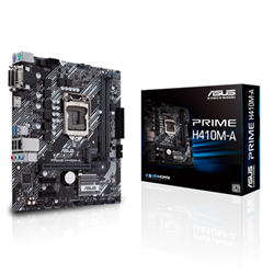 ASUS INTEL H410 GAMING MOTHERBOARDS FOR COMET LAKE S 10TH GEN CPU