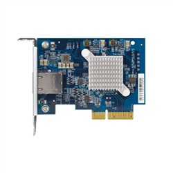 QNAP QXG-10G1T-NETWORK CARD FOR ALL NAS MODELS WITH PCIE SLOT- SINGLE PORT 10GBASE-T
