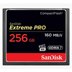 EXTREMEPRO CF 256GB 160MB/150MB/S UDMA 7 +VPG 65 SUPPORT