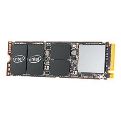 INTEL 760P SERIES SSD- M.2 80MM PCIE- 512GB- 3230R/1625W MB/S- OEM PACK- 5YR WTY