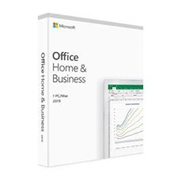 MICROSOFT OFFICE 2019 HOME & BUSINESS - RETAIL BOX FOR WINDOWS 10 AND MAC - P6