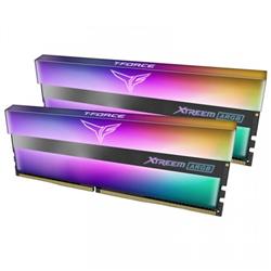 T-FORCE XTREEM ARGB SERIES 16GB (2X8GB) DIMM 3600MHZ DRAM BLACK HEATSPREADER