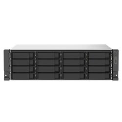 QNAP 16-BAY NAS(NO DISK)-AMD QC 2.2GHZ- 16GB- 2.5GBE(2)- PCIE(2)- RPSU- 3YR WTY