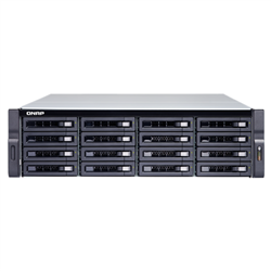QNAP TS-1677XU-RP-1200-4G- 16BAY NAS(NO DISK)-RYZEN 3-4GB-10GBE(2)-GBE-USB-2U-RPSU-3YRWTY