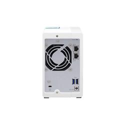 QNAP 2-BAY NAS (NO DISK)- ALPINE QC 1.7GHZ- 1GB- GBE(2)- USB- TWR- 2YR WTY
