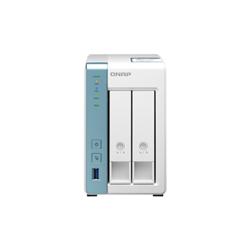 QNAP 2-BAY NAS (NO DISK)- ALPINE QC 1.7GHZ- 4GB- 2.5GBE- GBE- USB(3)- TWR- 2YR WTY