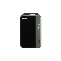 QNAP 2-BAY NAS (NO DISK) CELERON QC 2.0GHZ- 4GB- 2.5GBE(2)- PCIE(1)- TWR- 3YR WTY