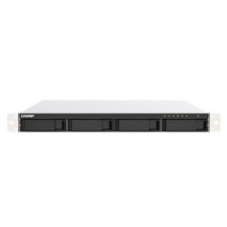 QNAP 4-BAY NAS (NO DISK) CELERON 2.0GHZ- 4GB- 2.5GBE(2)- PCIE(1)- 1RU- 3YR WTY