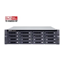 QNAP 16-BAY NAS (NO DISK) XEON 6-CORE 3.4GHZ- 128GB- 10GBE SFP+(2)- GBE(4)- RPSU- 2U- 3YR