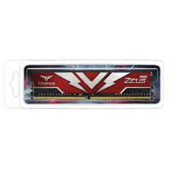 T-FORCE ZEUS SERIES 16GB(1X16GB) DIMM DDR4 2666MHZ 1.20V- RED HEAT SPREADER