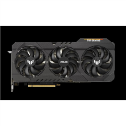 NVIDIA TUF GAMING GEFORCE RTX 3070 TI OC EDITION 8GB GDDR6X BUFFED-UP DESIGN WITH CHART-TOPPING THERMAL PERFORMANCE.