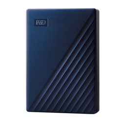 MY PASSPORT 5TB FOR MAC MIDN BLUE 2.5IN USB 3.0