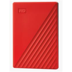 MY PASSPORT 4TB RED 2.5IN USB 3.0