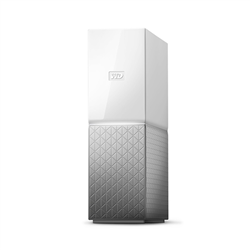 WD MY CLOUD HOME 6TB - WHITE SILVER