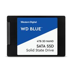 WD BLUE 3D NAND SATA3 SSD; 2.5 FORM FACTOR- 4TB- 5 YR WARRANTY