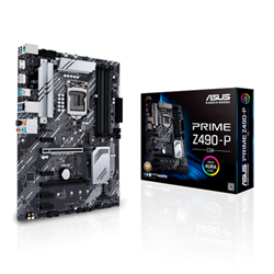 INTEL Z490 (LGA 1200) ATX MOTHERBOARD WITH DUAL M.2- 11 DRMOS POWER STAGES- 1 GB ETHERNET- HDMI- DISPLAYPORT- SATA 6GBPS- USB 3.2 GEN 2- THUNDERBOLT 3