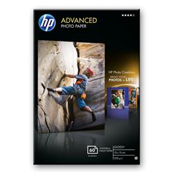 HP ADVANCED GLOSS PHOTO PAPER 60 SHT A6