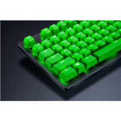 RAZER PBT KEYCAP UPGRADE SET - RAZER GREEN - FRML PACKAGING