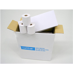 CALIBOR THERMAL PAPER 57X50 50 ROLLS/BOX