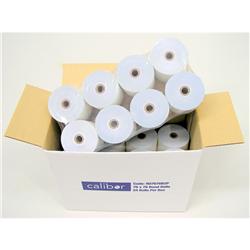CALIBOR PAPER ROLLS 2PLY PAPER 76X76 24 ROLLS / BOX