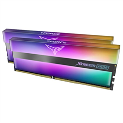 T-FORCE XTREEM ARGB SERIES 16GB (2X8GB) DIMM 3600MHZ DRAM BLACK HEATSPREADER