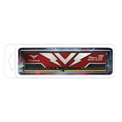 T-FORCE ZEUS SERIES 16GB(1X16GB) DIMM DDR4 3200MHZ 1.20V- RED HEAT SPREADER