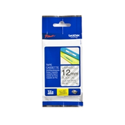 BROTHER TZ131 P-TOUCH TAPE 1/2 IN X 26 FT BLACK ON CLEAR