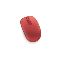 MICROSOFT WIRELESS MOBILE MOUSE 1850 - RETAIL BOX (FLAME RED)