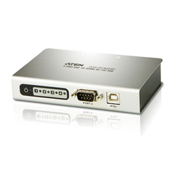 4-PORT USB TO RS-232 HUB. EASY WAY TO ADD 4 RS-232 SERIAL PORTS.UP TO 115.2 KBPS DATA TRANSFER RATE FOR EACH SERIAL PORT
