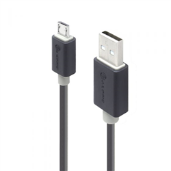 ALOGIC 2M USB 2.0 TYPE A TO TYPE B MICRO CABLE - MALE TO MALE