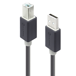 ALOGIC 1M USB 2.0 CABLE - TYPE A MALE TO TYPE B MALE