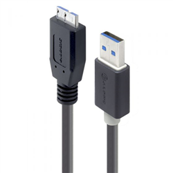 ALOGIC 3M USB 3.0 TYPE A TO TYPE B MICRO CABLE - MALE TO MALE - MOQ:5