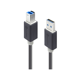 ALOGIC 2M USB 3.0 TYPE A TO TYPE B CABLE - MALE TO MALE
