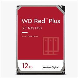 12TB RED PLUS 256MB CMR 3.5IN SATA 6GB/S INTELLIPOWERRPM