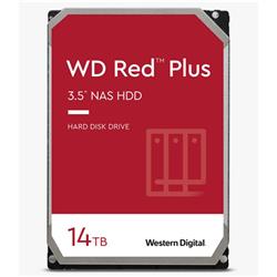 14TB RED PLUS 512MB CMR 3.5IN SATA 6GB/S INTELLIPOWERRPM