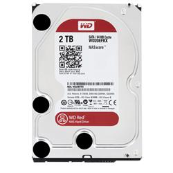 HARD DRIVE 2TB RED 64MB 3.5 SATA 6GB/S 5400RPM