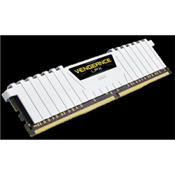 CORSAIR VENGEANCE LPX 16GB (2X8GB) DDR4 DRAM DIMM 3200MHZ 16-18-18-36 WHITE HEAT SPREADER 1.35V XMP 2.0