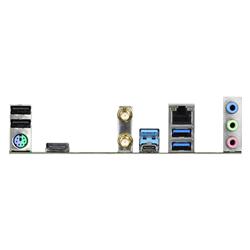 INTEL Z490; ATX; SOCKET 1200; 4 X DDR4 DIMM; 2 PCIE 3.0 X16- 3 PCIE 3.0 X1; 6 SATA3- 1 ULTRA M.2 (PCIE GEN3 X4 & SATA3); 2 USB3.2 GEN2 (REAR TYPE-A+C)