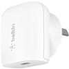 belkin-1-port-wall-charger-18w-usb-c-(1)-fast-charge-pd-white-2-yr-with-$2500-cew-f7u096auwht