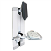 ERGOTRON STYLEVIEW VERTICAL LIFT PATIENT ROOM WHI