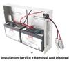 apc-(trbc22)-sup-install-1xrbc-dispo-of-old-batt-1yr-ext-(ups-6kva-6yr-old-metro-only)-trbc22