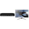 hp-800-g8-dm-i7-11700t-16gb-plus-dahua-uhd-28-monitor-(lm28-f420)-for-$212-4d9v6pa-dahua28
