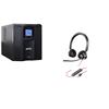 apc-deal-apc-smc1000va-ups-with-poly-3320-stereo-headset-smc1000ic-poly3320