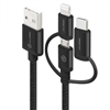 alogic-3-in-1-charge-sync-cable-micro-usb-lightning-ubs-c-30cm-black-prime-series-(apple-certified-under-mfi)-moq-3-mu23t1-030blk