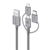 alogic-3-in-1-charge-sync-cable-micro-usb-lightning-ubs-c-30cm-space-grey-prime-series-(apple-certified-under-mfi)-moq-3-mu23t1-030sgr