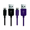 laser-lightning-cables-twin-pack-purple-and-black-ir-9pin2pk-pb