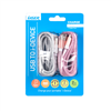 twin-pack-glitter-lightning-charge-cable-pink-silver-ir-9pingpk-ps
