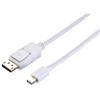 blupeak-1m-mini-displayport-male-to-displayport-male-cable-(lifetime-warranty)-mddp01